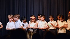 First-Graders On Stage