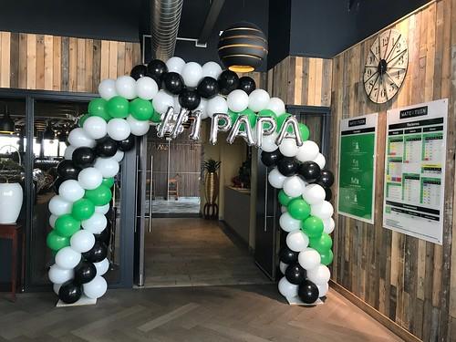 Ballonboog 6m Vaderdag Watertuin Spijkenisse
