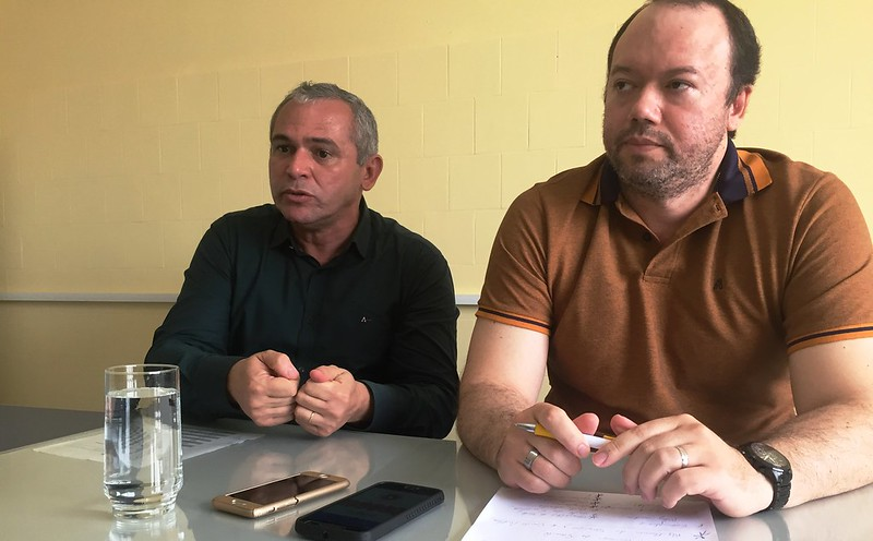 Gestão da Saúde por OS deve iniciar em 60 dias, estima Nélio Aguiar, OS - Nélio e Edson Filho
