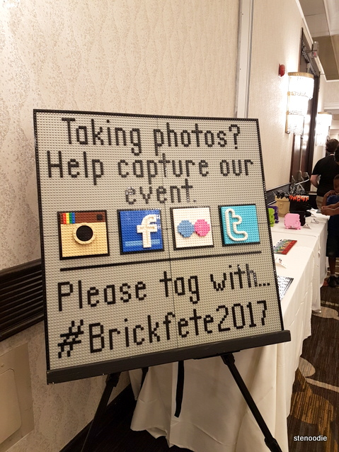 Hashtag for Brickfete 2017