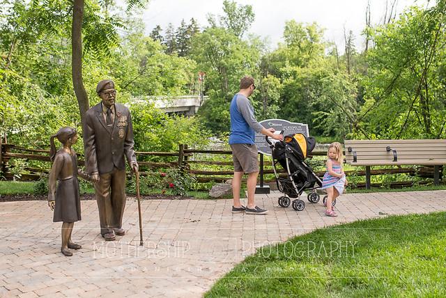 Manotick's new memorial garden