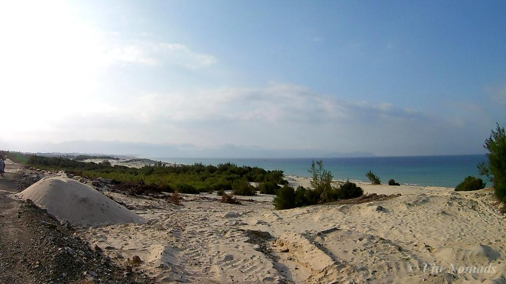 desert beach Vietnam