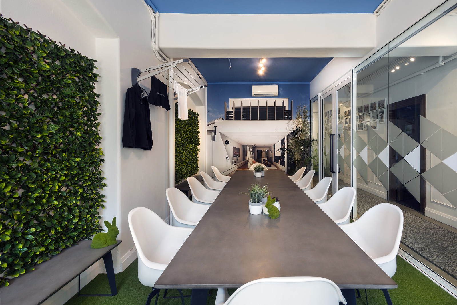 the houzz blog as we have an open floor plan our meeting rooms are always coveted spaces down the hall you ll see the first and largest of our meeting rooms