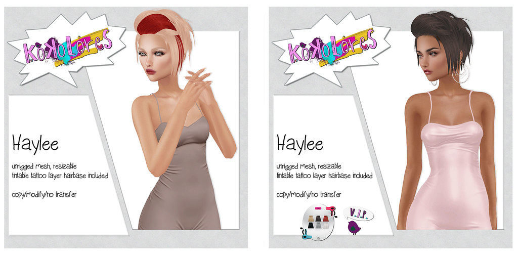 [KoKoLoReS] Hair - Haylee - SecondLifeHub.com