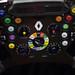 Steering wheel - Red Bull Racing, Newcastle