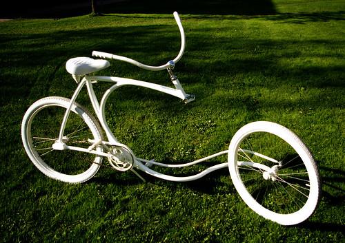 चित्र १२: फोर्क विरहित सायकल