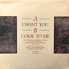 JOHNNY ROCCA:I WANT YOU(JACKET B)