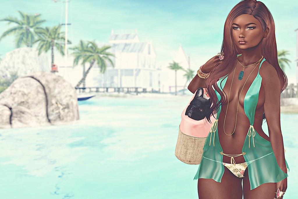 Resort life.