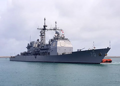 USS Lake Erie (CG 70) file photo. (U.S. Navy/MC2 Joshua Fulton)