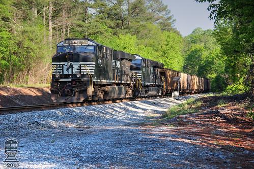 et44ac es44ac norfolksouthern railroad railway railfan coal train dpu silvercreek ga georgia coalhopper