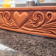 #handmade #leathercraft #dogsofinstgram #greatdane #bernesemountaindog #mastiff