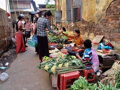 Yangon - Small market