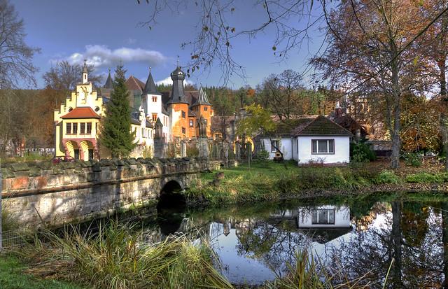 """Schloss """"Zur Fröhlichen Wiederkunft"""" Wolfersdorf  (2)"""
