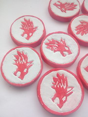 Red wolf coins