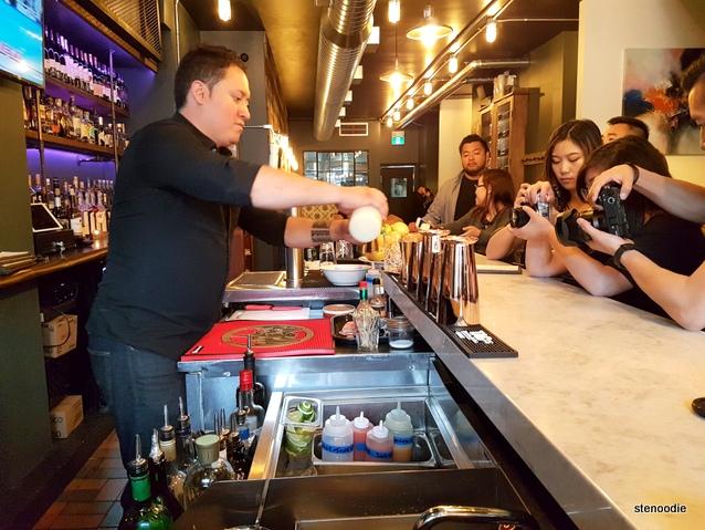 CANO Restaurant bartender