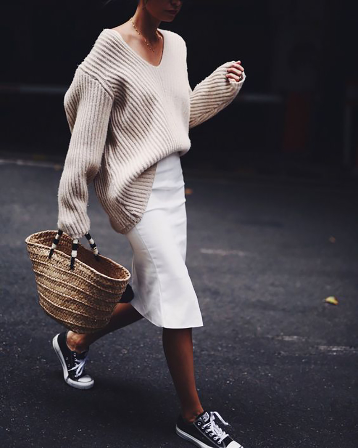 White outfits for summer 2017 street style outfits fashion trend accessories12