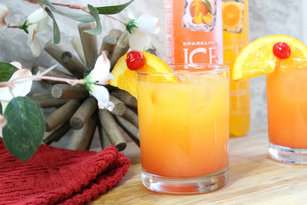 Sweet Sunrise Mocktail #BeNotBland