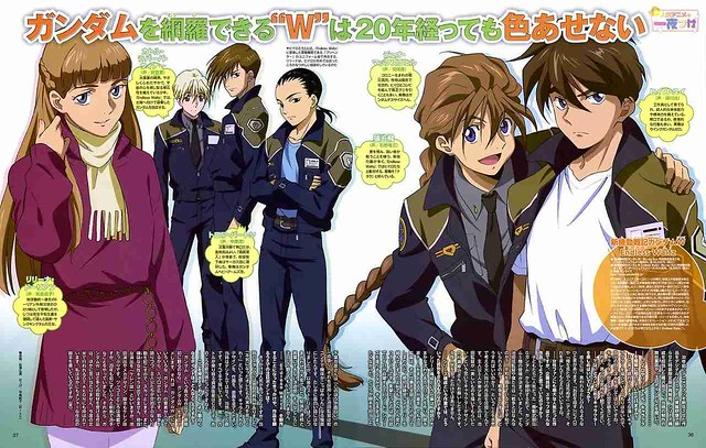 Gundam Wing Endless Waltz 20th anniversary