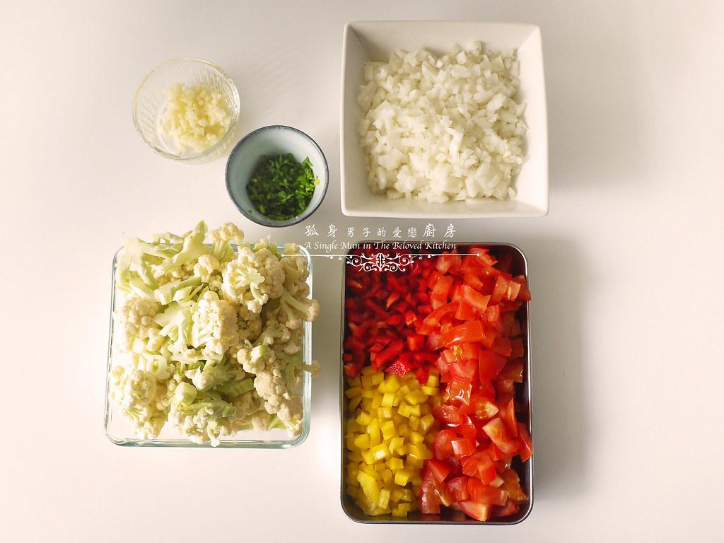 孤身廚房-Staub媽咪鍋煮超滿的印度蔬食花椰菜咖哩4