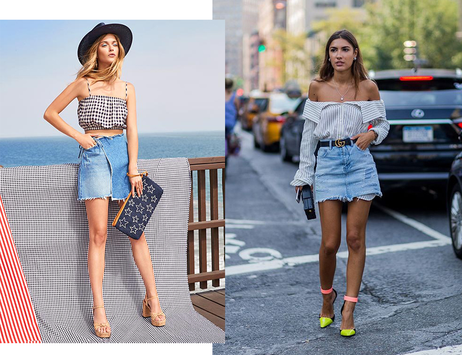street-style-denim-skirt-mini