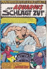 Die Spinne 12 / Seite 21 (Prinz Namor / splash panel