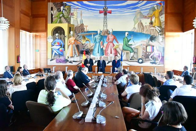Toma de posesión Director ETSI UNED (11/07/17)