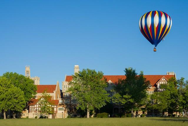 Balloon Over Holy Cross, Nikon D600, AF Zoom-Nikkor 28-105mm f/3.5-4.5D IF