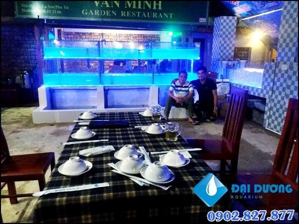 Hệ thống hồ chứa hải sản tại Hà Tĩnh