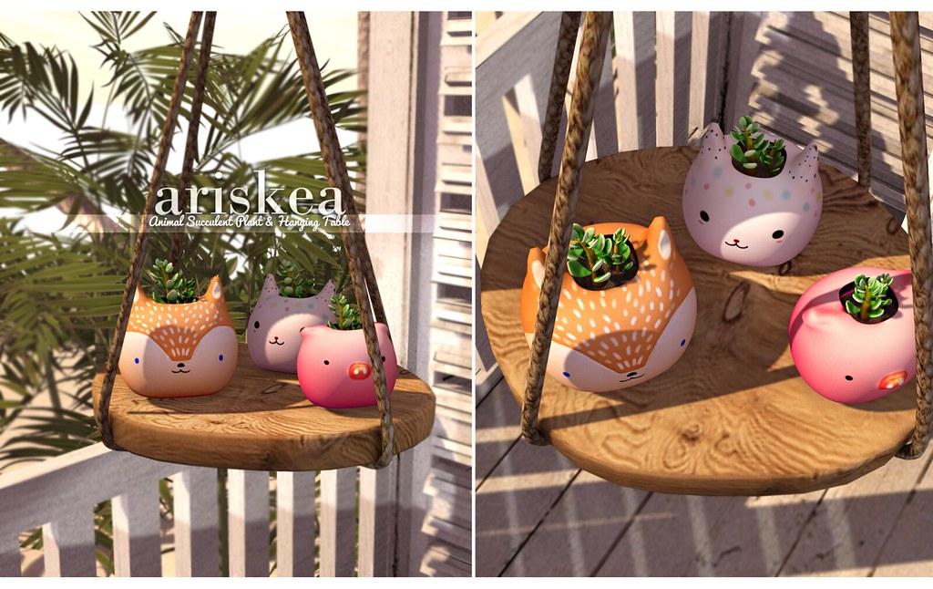 Kustom9- Succulente-Ariskea - SecondLifeHub.com