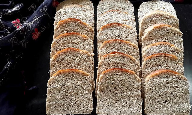Multigrain Sandwich Bread Slices