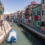 Canal of Burano