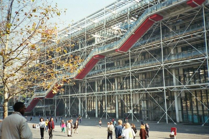 Centre Pompidou front view