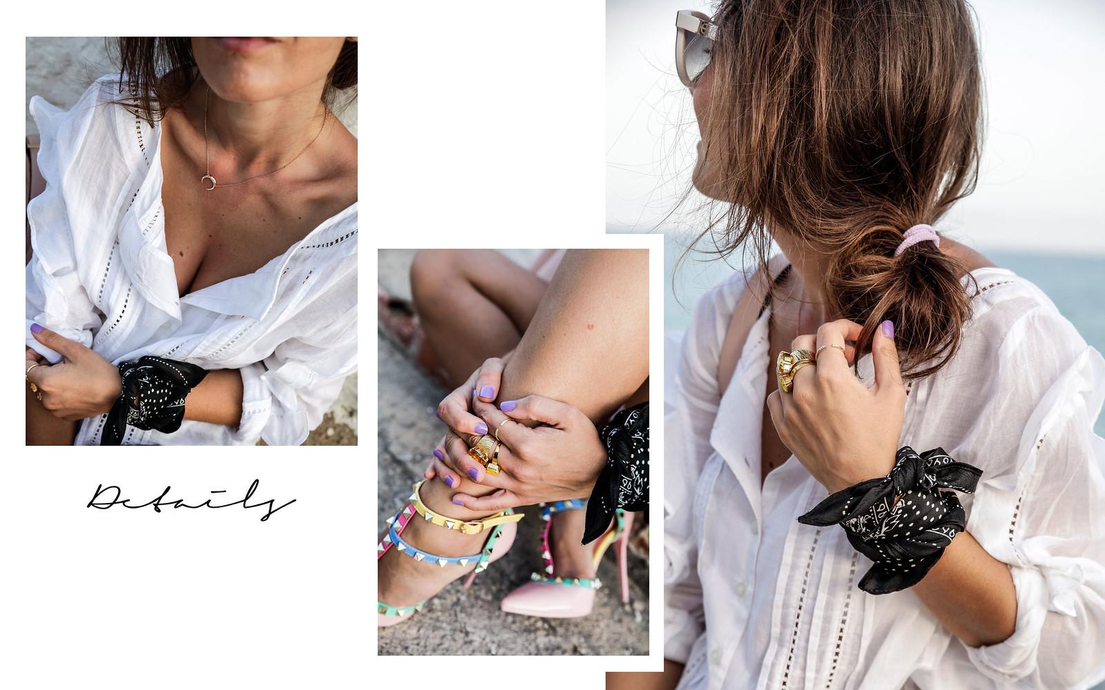 06_blusa_blanca_volantes_con_tacones_tachuelas_theguestgirl_black_white_outfit_storets_shorts