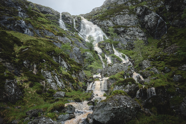 Glen Clova Waterfall, Panasonic DMC-GX80, LUMIX G 20/F1.7 II
