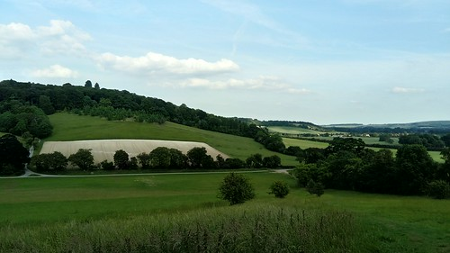 View from Reservoir Hill towards Ridge Wood