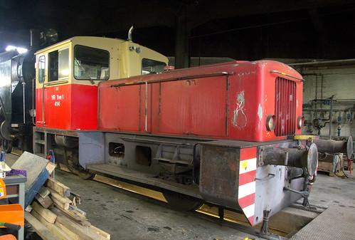 trains deutz saalasti vr valtionrautatiet finnishstaterailways finland shunter diesel engineshed kouvola