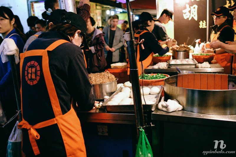 Tham quan Đài Bắc - Đài Loan - Chợ đêm RAOHE