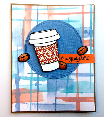 One Sip at a Time designed by Heidi at My Little Stamping Bloc