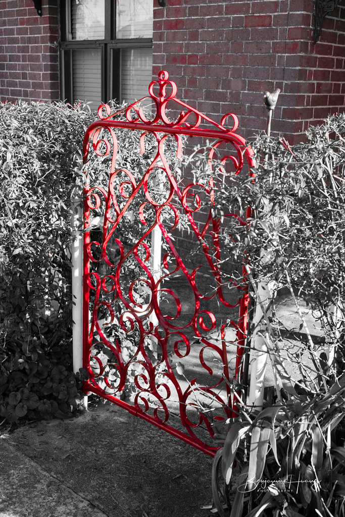 Cherry Fence Gate