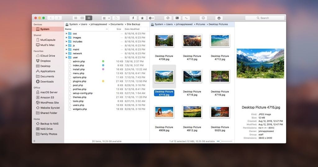 ForkLift 3 3 4 – Powerful file manager: FTP, SFTP, WebDAV