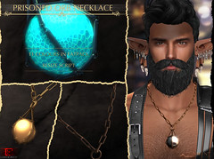 -Labyrinth- Prisoned Orb Necklace Advert