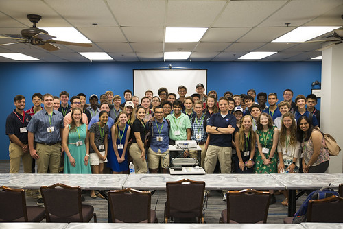 ENGN Students Visit Space Center Houston
