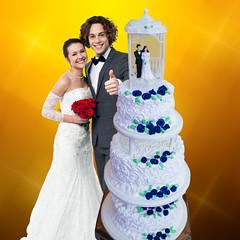Torta de boda alemana