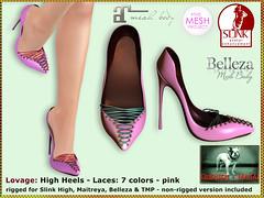 Bliensen - Lovage - High Heels - pink