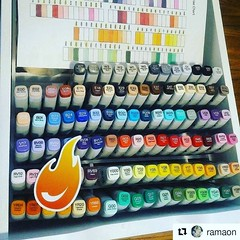 #Repost @ramaon ・・・ ENABLEEEERRRRSSSS @otakufuel #YOURFAULT #ALMOSTTHERE #copicproblem #copic . We ship to the USA and Canada only. @otakufuel is an AUTHORIZED COPIC DEALER trusted and backed by @copicmarker ••• Most USA orders over $35 qualify for free s