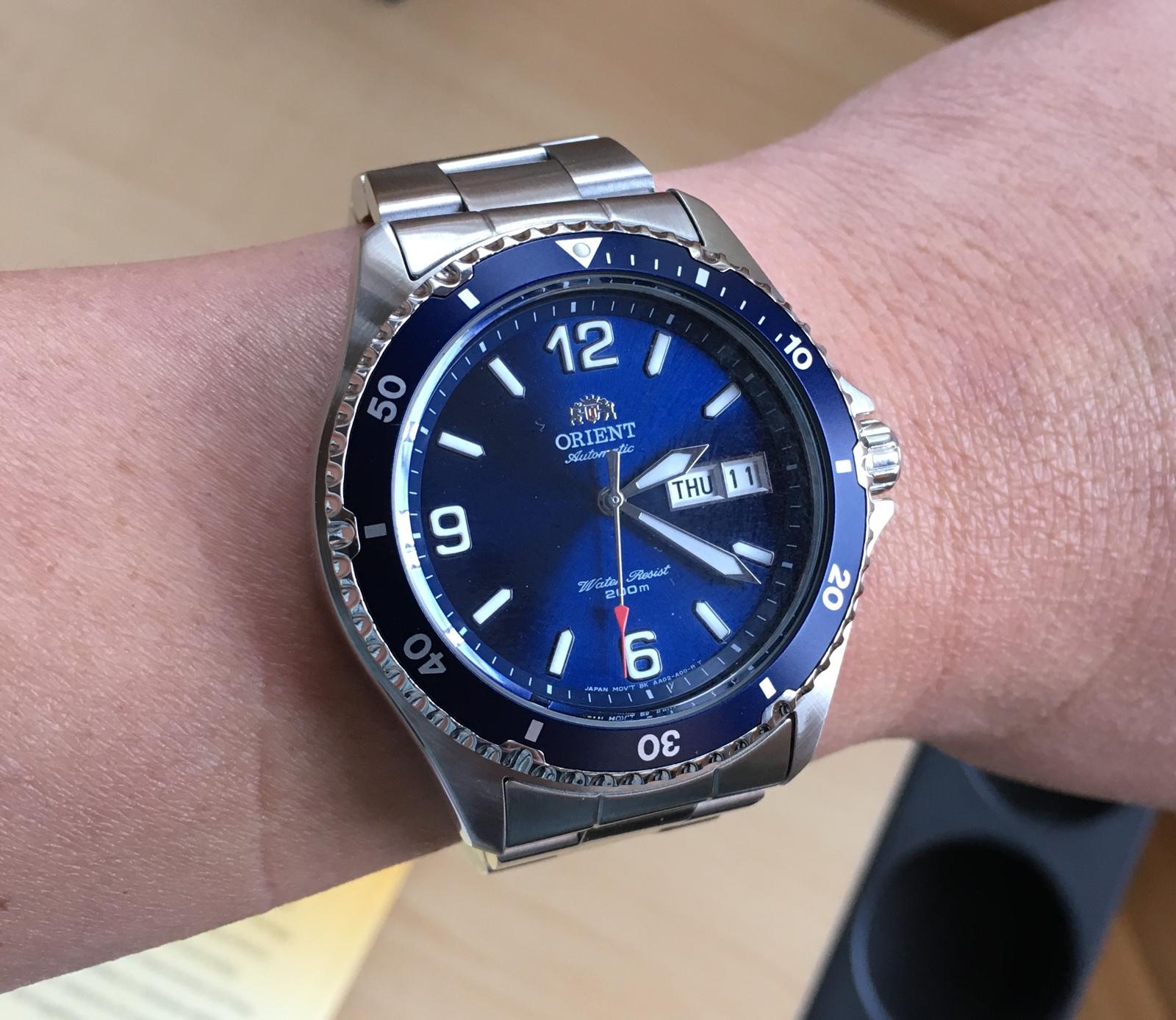 Orient Mako Usa Ii Vs Deep Blue Nato 300
