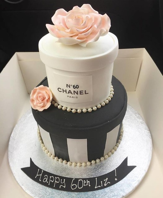 Chanel Cake by Debbies Delights Cakes