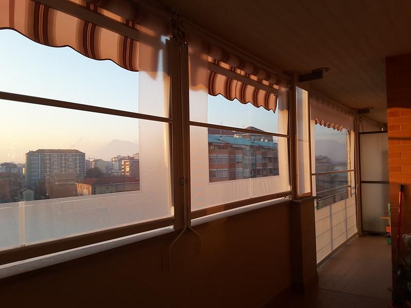 Tenda veranda ermetica estate inverno antivento tende da sole a