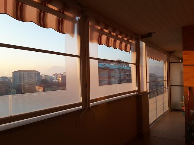 Tenda veranda estate inverno a Torino