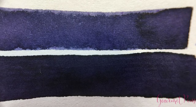Ink Shot Review Diamine Anniversary Lilac Night @AppelboomLaren 5